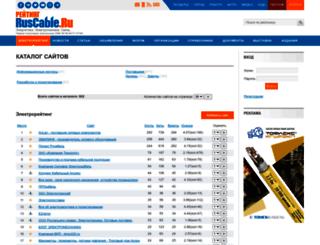 top.ruscable.ru screenshot