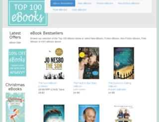 top100ebooks.co.uk screenshot