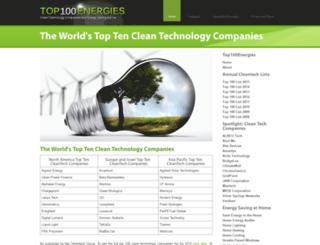 top100energies.com screenshot