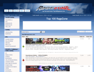 top100ragezone.com screenshot