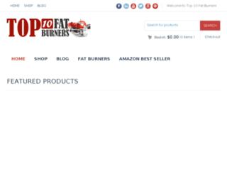 top10fatburners.net screenshot