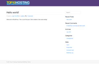 top10hosting.co.uk screenshot