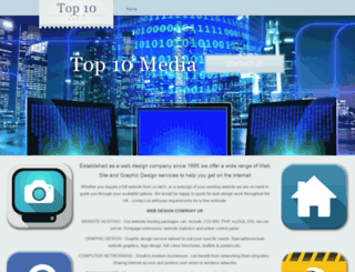 top10media.co.uk screenshot