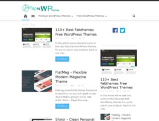 top10wpthems.com screenshot
