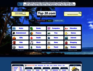top20.com screenshot