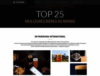 top25web.com screenshot