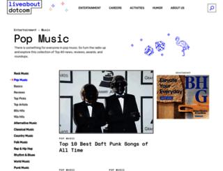 top40.about.com screenshot