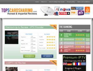 top5cardsharing.com screenshot