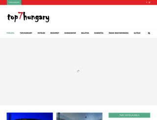 top7hungary.com screenshot