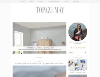 topazandmay.com screenshot