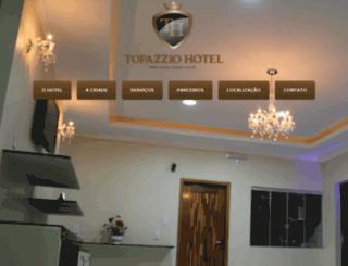 topazziohotel.com.br screenshot