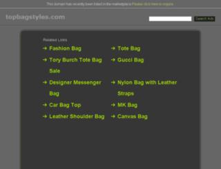 topbagstyles.com screenshot