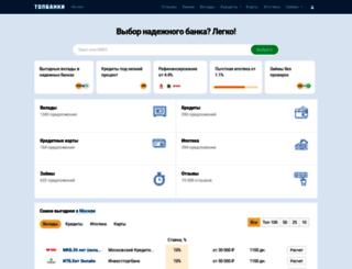 topbanki.ru screenshot