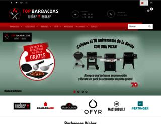 topbarbacoas.com screenshot