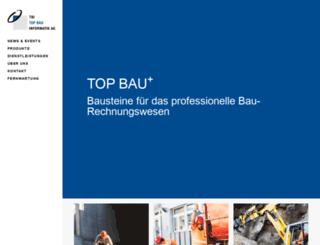 topbau.ch screenshot