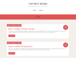 topbestbooks.com screenshot