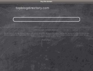 topblogdirectory.com screenshot