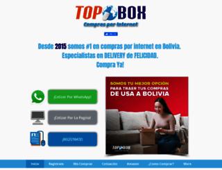 topboxbolivia.com screenshot