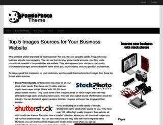 topbusiness.pandathemes.com screenshot