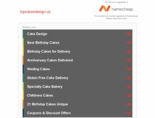 topcakesdesign.us screenshot