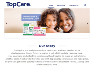 topcare.flywheelsites.com screenshot