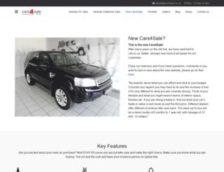 topcars.co.za screenshot