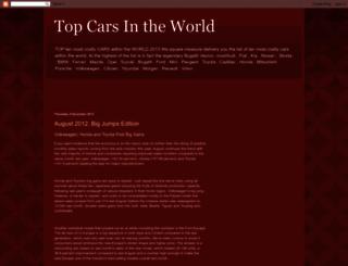 topcars4sure.blogspot.com screenshot