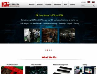 topcbpcba.com screenshot