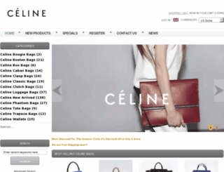 topcelinebag.com screenshot
