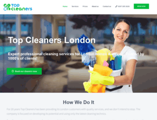topcleaners.uk screenshot