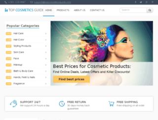 topcosmeticsguide.com screenshot