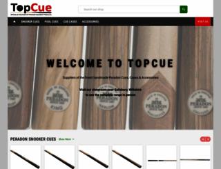 topcue.co.uk screenshot