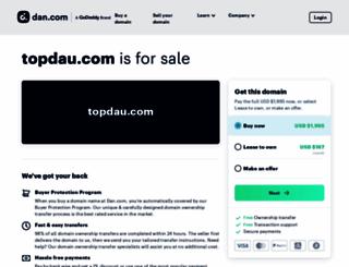 topdau.com screenshot