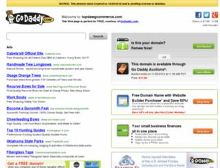 topdawgcommerce.com screenshot