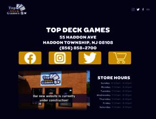 topdeckgamesonline.com screenshot