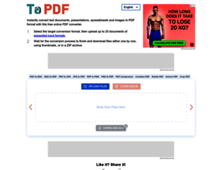 topdf.com screenshot