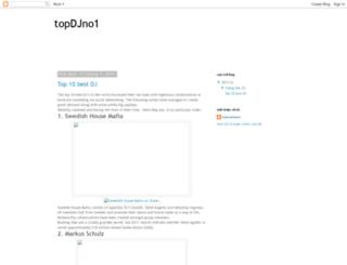 topdjno1.blogspot.com screenshot