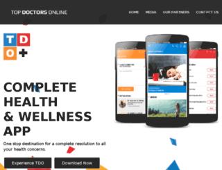 topdoctorsonline.com screenshot