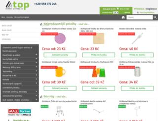topdomacipotreby.cz screenshot