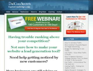 topdotcombridges.com screenshot