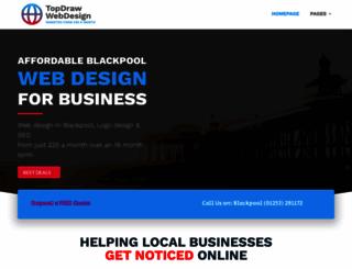 topdrawwebdesign.com screenshot