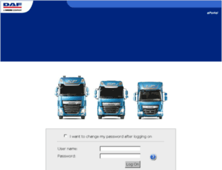 topec.daf.com screenshot