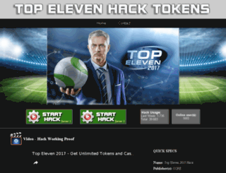 topeleven.cheatfree.biz screenshot