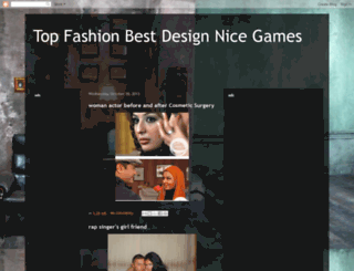 topfashiondesignsgames.blogspot.de screenshot