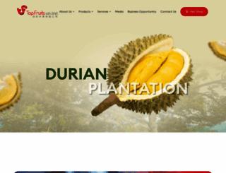 topfruits.com.my screenshot