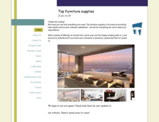 topfurniture.com.au screenshot