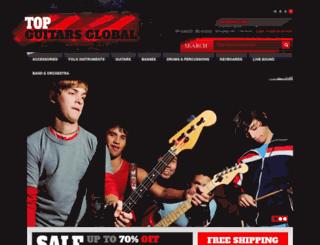 topguitarsglobal.com screenshot