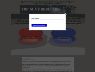 topgunproducers.com screenshot