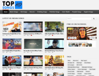 tophdsongs.com screenshot