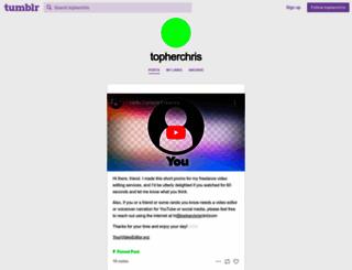 topherchris.com screenshot